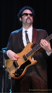 Bassist and band leader Bosco Mann