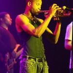 Troy on trumpet