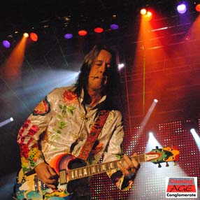 "Hipster gigster, techno-wizard and all-around rock-and-roll guy, Todd Rundgren gives the ""Fool"" guitar a massive workout recreating the Todd album. Photo by Lynn Vala"