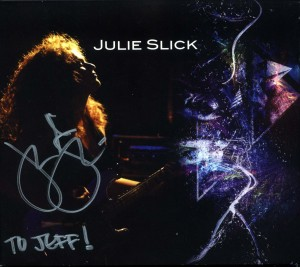 Once again, nothing like that personalized, autographed CD cover.